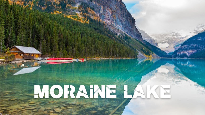 moraine lake - Canadian Summer Vacay with a Twist!